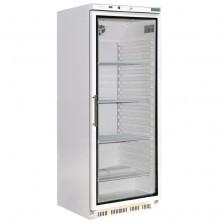 Koeling/koelkast met glazen deur wit